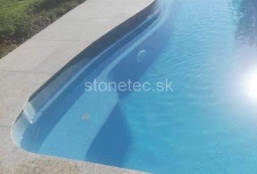 Obklad bazéna z prírodnej žuly