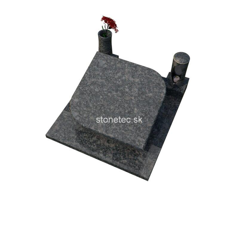 urnovy hrob epitaf - Steel Grey